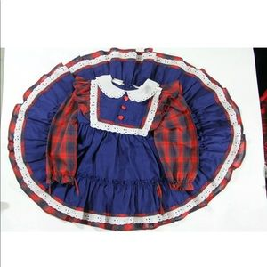 Other - Vintage Girls Dress 12-18 Months 18-24 Months 2t
